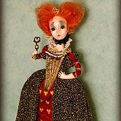 Куклы и игрушки ручной работы. Ярмарка Мастеров - ручная работа Королева из Алисы в стране чудес. Handmade.