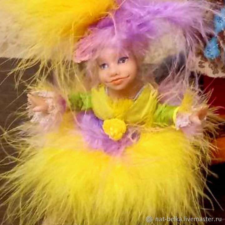 Подвижная кукла размером с ладошку, Интерьерная кукла, Москва,  Фото №1