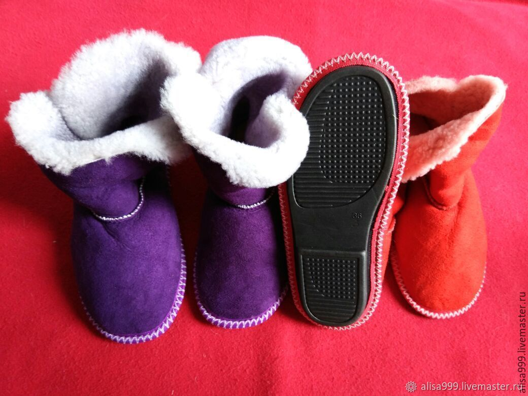 Homemade ugg boots-natural sheepskin fur, Ugg boots, Moscow,  Фото №1