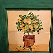 Винтаж handmade. Livemaster - original item Wall decoration
