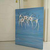 Картины ручной работы. Ярмарка Мастеров - ручная работа Морская лилия. Handmade.