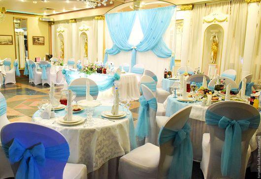 Оформление свадьбы `Тифанни`