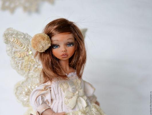 Коллекционные куклы ручной работы. Ярмарка Мастеров - ручная работа. Купить Паппи. Бабочка.... Handmade. Бежевый, коллекционная кукла