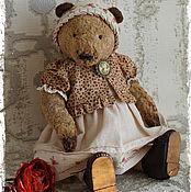 Куклы и игрушки ручной работы. Ярмарка Мастеров - ручная работа Hello Teddy 2016 Арина Родионовна- коллекционный плюшевый медведь. Handmade.