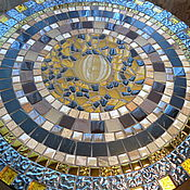 Для дома и интерьера handmade. Livemaster - original item Table of mosaic
