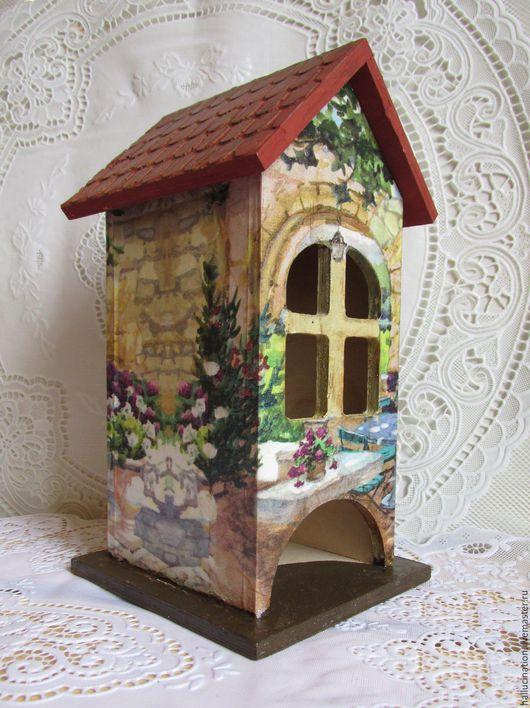 Чайный домик, купить домик, домик, чайная шкатулка, Ярмарка мастеров, ручная работа, Handmade, купить домик, подарок на любой случай, сувенир, подарки, чайный домик декупаж.