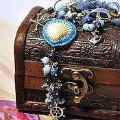 Украшения handmade. Livemaster - original item Jewelry set with natural stones