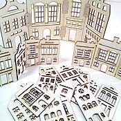 Материалы для творчества ручной работы. Ярмарка Мастеров - ручная работа Домики декоративные. Handmade.