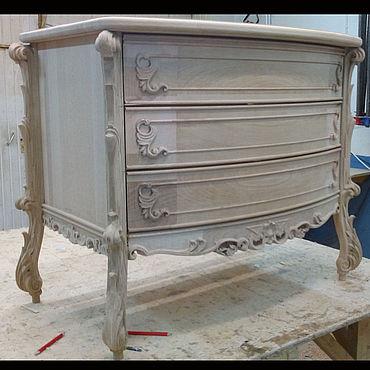 Мебель ручной работы. Ярмарка Мастеров - ручная работа Комод из дуба и бука (№042). Handmade.