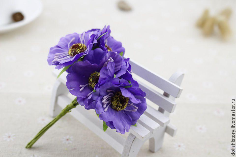 Искуственные цветы анемон купить астрахань цветы по низким ценам с доставкой на дом