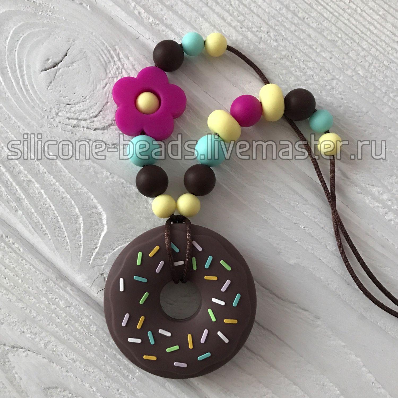 Слингобусы с грызунком в форме пончика в шоколадной глазури, Слингобусы, Новосибирск,  Фото №1