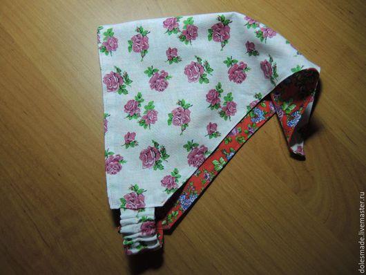 """Одежда для девочек, ручной работы. Ярмарка Мастеров - ручная работа. Купить Косынка на резинке """"Нежность"""". Handmade. Комбинированный, резинка"""