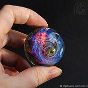 Сувениры и подарки handmade. Livemaster - original item Glass ball Rainbow shine of space 2. Sphere Meditation Galaxy. Handmade.