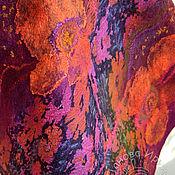 """Аксессуары ручной работы. Ярмарка Мастеров - ручная работа палантин """"Флокс"""". Handmade."""