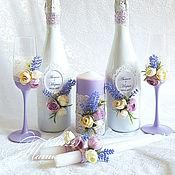 Свадебный салон ручной работы. Ярмарка Мастеров - ручная работа Лавандовая свадьба. Handmade.