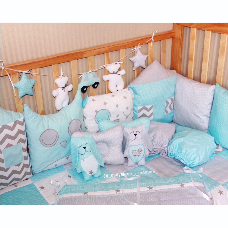 Бортики для детской кроватки своими руками мастер 416