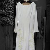 Свадебный салон ручной работы. Ярмарка Мастеров - ручная работа Свадебное платье для венчания. Handmade.