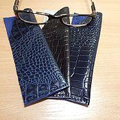 Сумки и аксессуары handmade. Livemaster - original item cases: Eyeglass case made of genuine leather. Handmade.