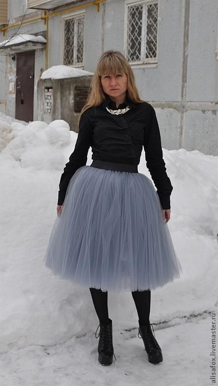 Юбка из сетки фатина мастер класс по пошиву - девочка сделай сам #12