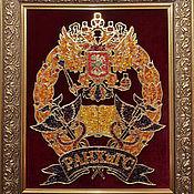 Подарки к праздникам handmade. Livemaster - original item The Coat Of Arms Of The Ranepa. Handmade.