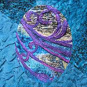 """Аксессуары ручной работы. Ярмарка Мастеров - ручная работа Шаль бактус """"Magic Woman"""". Handmade."""