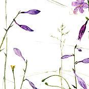 """Картины и панно ручной работы. Ярмарка Мастеров - ручная работа """"Летние цветы"""". Handmade."""