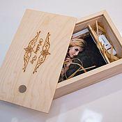 Подарки к праздникам handmade. Livemaster - original item Fotoboks (pencil case for photo and flash drive). Handmade.