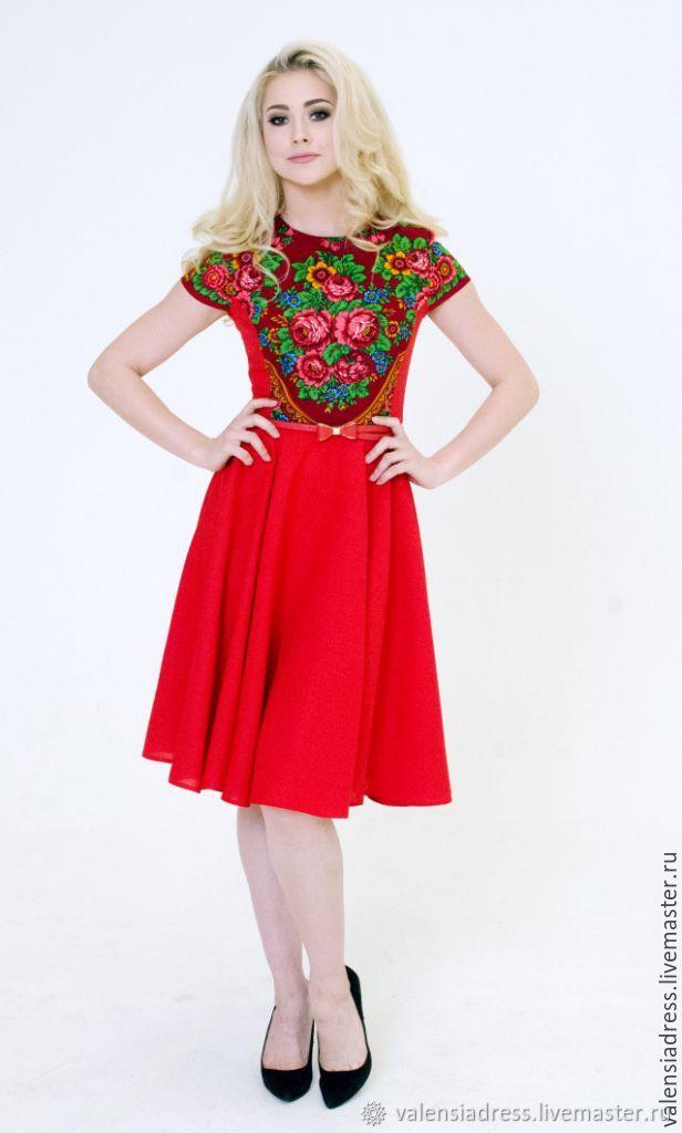 Dress summer dress short red dress, Dresses, St. Petersburg,  Фото №1