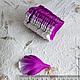 Лепестки пиона бело-сиреневые My Thai Материалы для флористики из Таиланда
