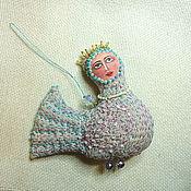 """Куклы и игрушки ручной работы. Ярмарка Мастеров - ручная работа Птица сирин """"Светлая песнь"""". Handmade."""