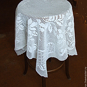 Для дома и интерьера ручной работы. Ярмарка Мастеров - ручная работа Скатерть на малый стол. Handmade.