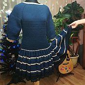 Одежда ручной работы. Ярмарка Мастеров - ручная работа Платье с юбкой-клёш. Handmade.