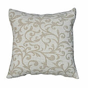 Для дома и интерьера handmade. Livemaster - original item Pillowcase for decorative pillow 40h40 cm made of soft linen. Handmade.