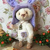 Куклы и игрушки ручной работы. Ярмарка Мастеров - ручная работа Мишка - Хочу быть Зайчиком.. Handmade.