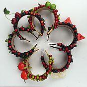Украшения ручной работы. Ярмарка Мастеров - ручная работа Ободок с лесными ягодами (и не только). Handmade.