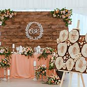 Декор ручной работы. Ярмарка Мастеров - ручная работа Оформление свадьбы в стиле рустик. Handmade.
