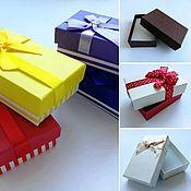 Упаковочная коробка ручной работы. Ярмарка Мастеров - ручная работа Коробочка подарочная. Handmade.