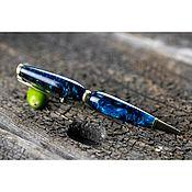 Канцелярские товары handmade. Livemaster - original item Ballpoint Pen Sapphire. Handmade.