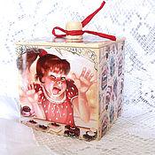 Для дома и интерьера handmade. Livemaster - original item Box for sweets Vkusnyashek. Handmade.