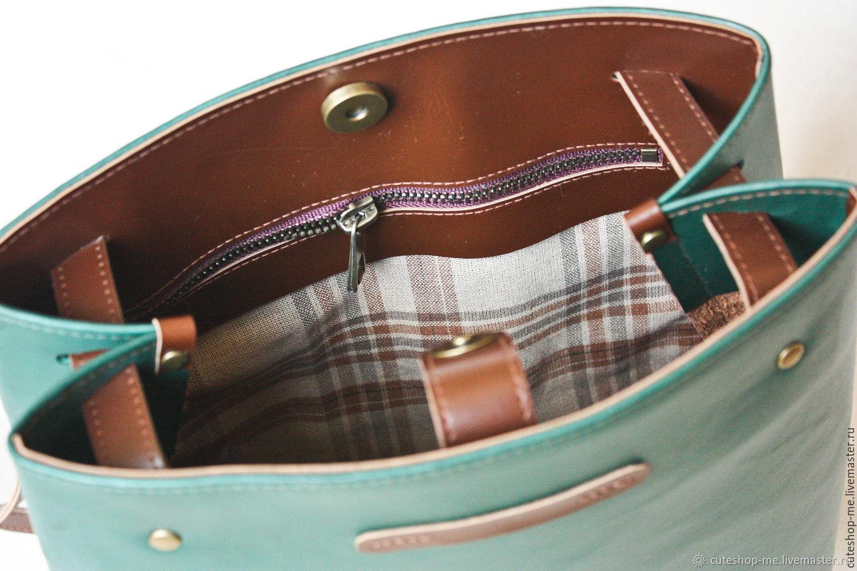 b63c91ff758b Сумки и аксессуары ручной работы. Сумка-рюкзак трансформер из экокожи  темного изумрудного цвета.