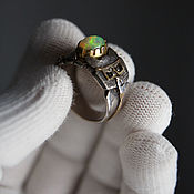 Rings handmade. Livemaster - original item ring stray cat. Handmade.