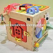 Куклы и игрушки handmade. Livemaster - original item Developing Light BIZIKOV 5v1 MYSELF. Handmade.