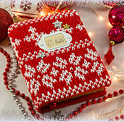 Канцелярские товары handmade. Livemaster - original item Christmas Notepad.. Handmade.