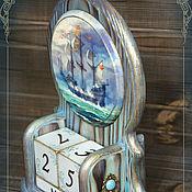 """Сувениры и подарки ручной работы. Ярмарка Мастеров - ручная работа Календарь """"Бирюзовые волны"""". Handmade."""
