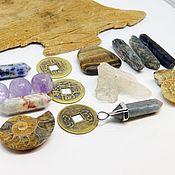 Фен-шуй и эзотерика handmade. Livemaster - original item Set of stones, crystals For good luck in business. Handmade.