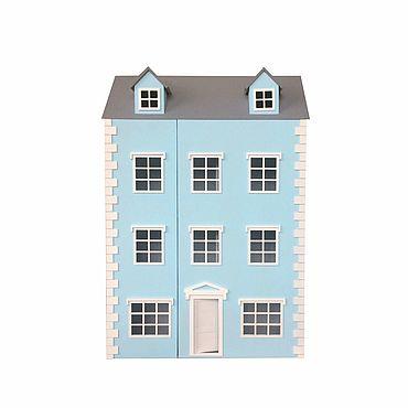 Куклы и игрушки ручной работы. Ярмарка Мастеров - ручная работа Кукольный дом трёхэтажный с мансардой. Handmade.