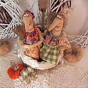 Куклы и игрушки ручной работы. Ярмарка Мастеров - ручная работа Бабки-Ежки. Handmade.