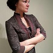 Платья ручной работы. Ярмарка Мастеров - ручная работа Историческое платье из хлопка. Handmade.