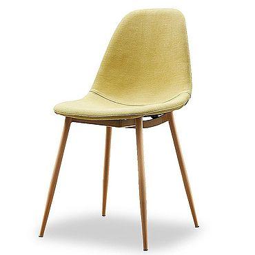 Мебель ручной работы. Ярмарка Мастеров - ручная работа Стул Антверпен желтый/дерево. Handmade.