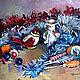 Новогодний натюрморт из Ёлочных игрушек. Старые знакомые игрушки опять встретились и проведут новый год вместе с нами.